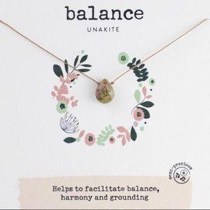 Soulku Unakite Balance Necklace- NWT